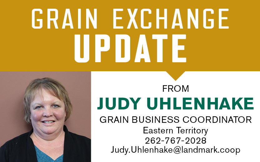 Grain exchange update with Judy Uhlenhake